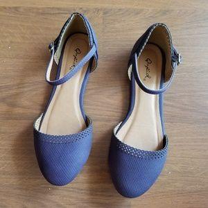 NWOT - Qupid Purple Dainty Flats